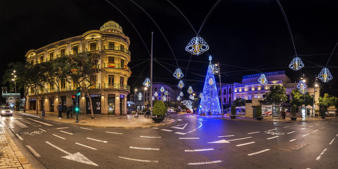 Navidad 2017 en Almeria - Puerta de Purchena